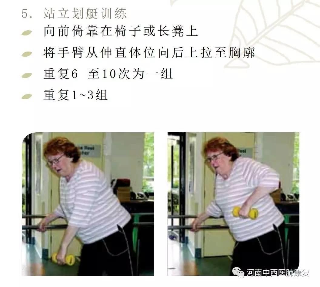 慢性阻塞性肺疾病患者的运动锻炼(二)