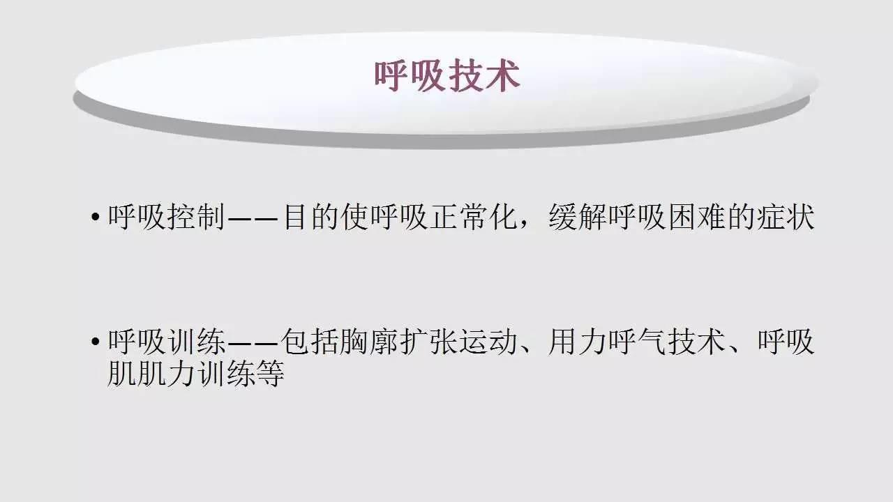 翟雅儒:肺康复物理治疗概述